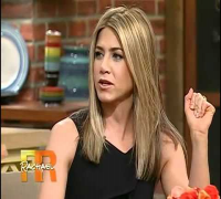 Jennifer Aniston's First Visit On Rachael Ray! (Part 1)