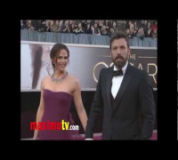 Jennifer Garner and Ben Affleck at Oscars 2013 Red Carpet Fashion Arrivals