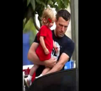 Jennifer Garner & Ben Affleck and Violet part 2