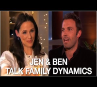 Jennifer Garner & Ben Affleck Talk Family Dynamics