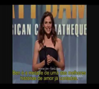 Jennifer Garner - Hollywood Salutes Matt Damon (Legendado)