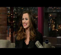Jennifer Garner (Letterman)