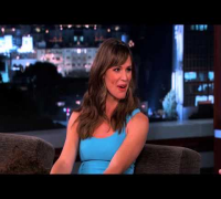 Jennifer Garner on Jimmy Kimmel Live PART 1