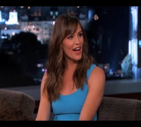 Jennifer Garner on Jimmy Kimmel Live PART 2