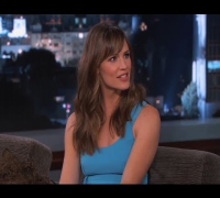 Jennifer Garner on Jimmy Kimmel Live PART 3