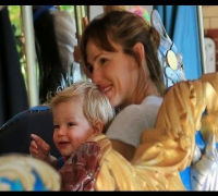 Jennifer Garner Takes Samuel for a Spin