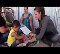 Jennifer Garner visits Save the Children Programs in California