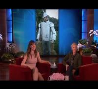Jennifer Garner's Halloween on Ellen show 2013