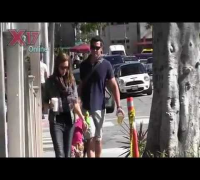 Jessica Alba And Family Spend The Day At The Park