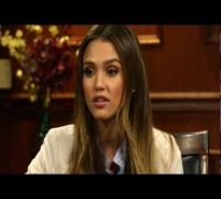 Jessica Alba Answers Social Media Questions | Larry King Now | Ora TV