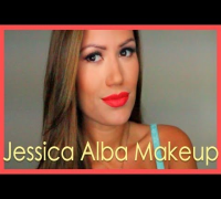 Jessica Alba Golden Globes Makeup Tutorial