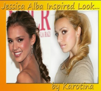 Jessica Alba Inspired Look by Karotina