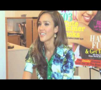Jessica Alba Interview - Cover Cam