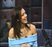 "Jessica Alba interview ""She Shooted a Film""  Feb. 14, 2001  Conan"