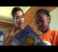 Jessica Alba visits Africa with 1GOAL
