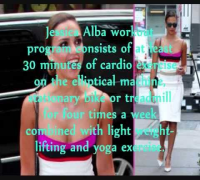 Jessica Alba Workout and Diet Program!