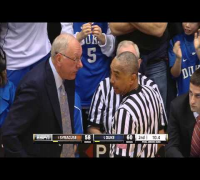 Jim Boeheim Ejected After Controversial Charge Call vs Duke