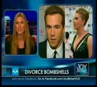 Joy Behar - Scarlett Johansson / Ryan Reynolds breakup - Part 1