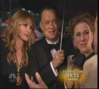 Julia Roberts Drunk At The Golden Globe Awards