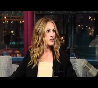 Julia Roberts on David Letterman 1 HD
