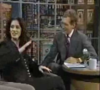 Julia Roberts on David Letterman 1993 part 1