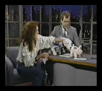 Julia Roberts on Late Night (1989) (Part 1 of 2)