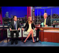 Julia Roberts on Letterman