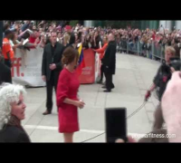 Julia Roberts Wearing Red Dress at TIFF