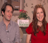 Julianne Moore and Michael Angarano Talk 'The English Teacher'