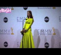 Julianne Moore Backstage Emmy Speech for Game Change 2012