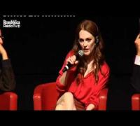Julianne Moore: Berlusconi è arcaico e idiota (Conferenza Stampa Festival del Cinema di Roma)