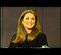 Julianne Moore   David Letterman 1995 10 03
