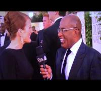 Julianne Moore | Golden Globes 2013 | Red Carpet [HD]