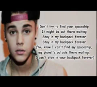Justin Bieber - Backpack ft. Lil Wayne (Lyrics) Official