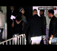 Justin Bieber mentor Usher Raymond arrives at Playhouse for 2012 BET after party