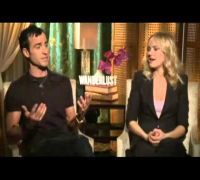 Justin Theroux Has a Raunchy Conversation With Malin Akerman