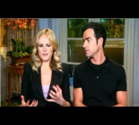 Justin Theroux & Malin Akerman interview
