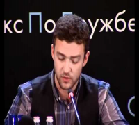 Justin Timberlake & Mila Kunis in Moscow press conference(full version)