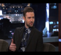 Justin Timberlake on Jimmy Kimmel Live PART 1