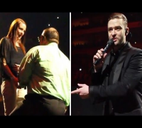Justin Timberlake Stops Live Concert For Fan's Marriage Proposal (Louisville Proposal VIDEO)