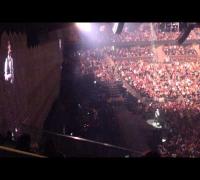 Justin Timberlake talking to the crowd - Orlando FL 12/19