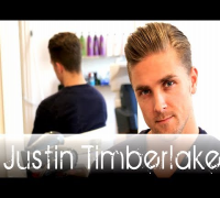 Justin Timberlake TKO hair tutorial - Men's celebrity hairstyle