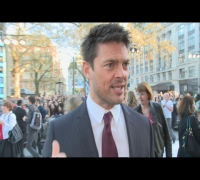 Karl Urban at Star Trek Into Darkness premiere: Charming Benedict Cumberbatch and space travel