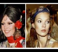 Kate Moss - Brigitte Bardot