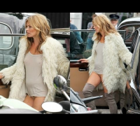 Kate Moss Caught Pantiless