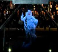 Kate Moss Hologram   Alexander McQueen Fashion Show