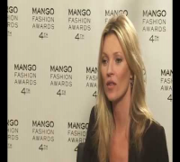 Kate Moss interview - MANGO Fashion Awards (4th edition)