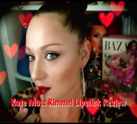 Kate Moss RIMMEL Lipstick Review and Swatches