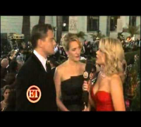 Kate Winslet and Leonardo Dicaprio INTERVIEW - Golden Globes