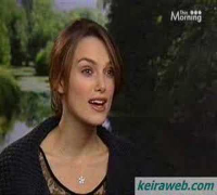 Keira Knightley Interview about Atonement on ITV